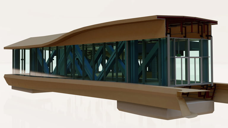 Curtain Wall Modelling Services