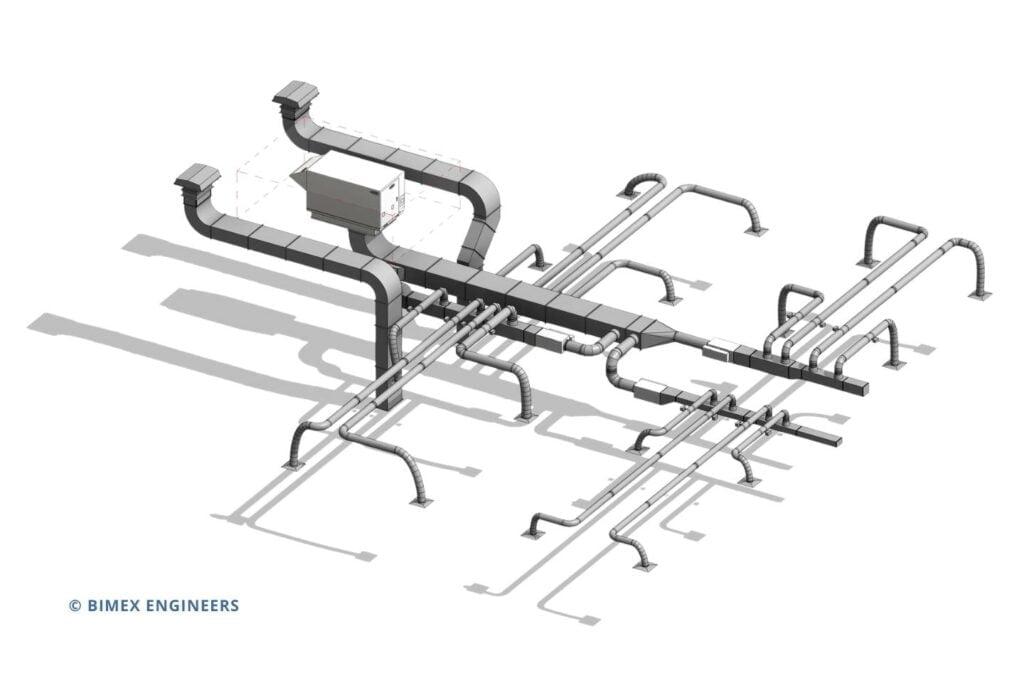 Mechanical Revit Modelling