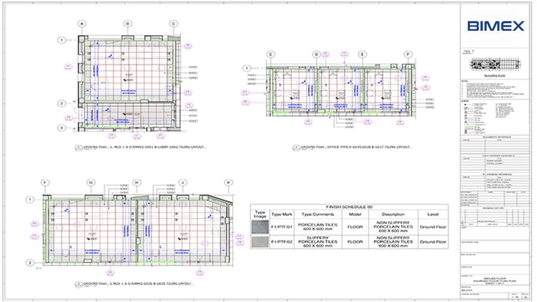 BIM Architecture Drawings